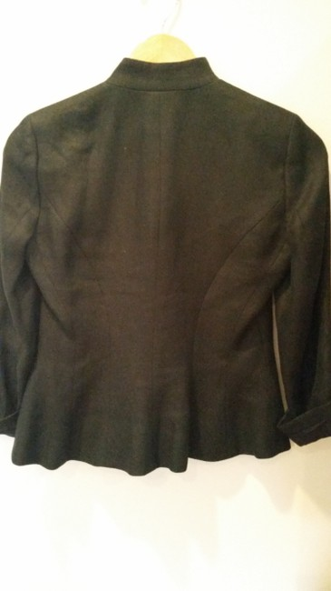 Ralph Lauren Linen Jacket Coat Black Blazer