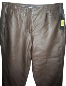 DKNY Boot Cut Pants brown