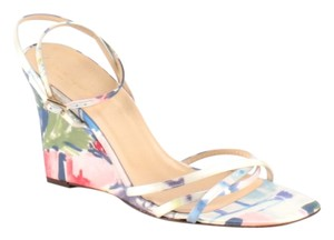 Kate Spade Pumps Heels Flowers Floral Wedges