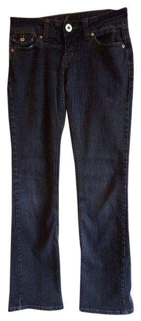 Guess Doheny Dark Rinse Boot Cut Jeans-Dark Rinse