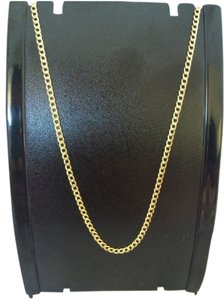 Other 14K Yellow Gold ~2.50mm Cuban Link Chain 22 Inches