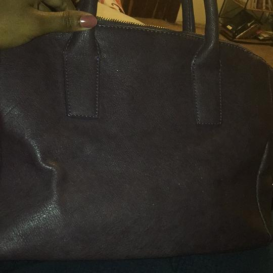 JustFab Satchel in Purple