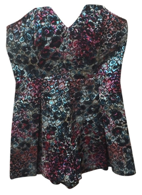 Preload https://item1.tradesy.com/images/asos-shades-of-blue-pink-and-purple-mini-romperjumpsuit-size-10-m-10582465-0-1.jpg?width=400&height=650