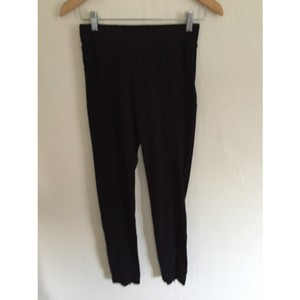 Maggie Ward Zipper Seamed Riding Pants Black Leggings