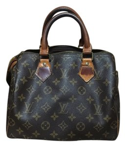 Louis Vuitton Classic Satchel in Brown