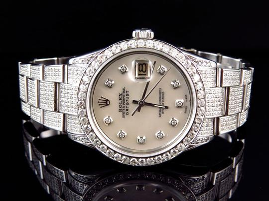 Preload https://item2.tradesy.com/images/rolex-stainless-steel-datejust-oyster-diamond-watch-with-95-ct-men-s-jewelryaccessory-10583296-0-0.jpg?width=440&height=440