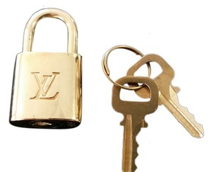 Louis Vuitton Louis Vuitton Padlock and Keys