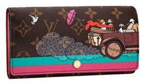 Louis Vuitton Sarah Wallet Monogram Evasion Illustrated Limited Edition SOLD OUT RARE!!!