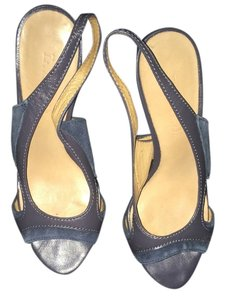 L.A.M.B. Blue Pumps