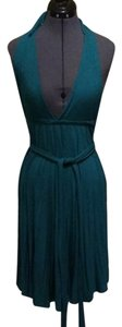 Lotta Stensson short dress Peacock Emerald Green on Tradesy