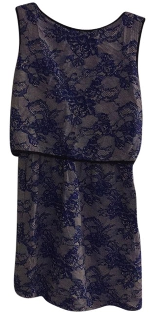 Preload https://item5.tradesy.com/images/cut25-black-and-blue-above-knee-short-casual-dress-size-2-xs-10583719-0-1.jpg?width=400&height=650