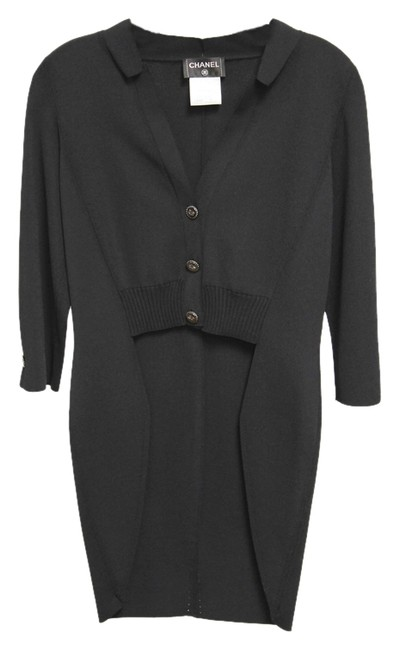 Preload https://item2.tradesy.com/images/chanel-black-price-reduced-viscose-tailcoat-cardigan-size-6-s-10583731-0-1.jpg?width=400&height=650