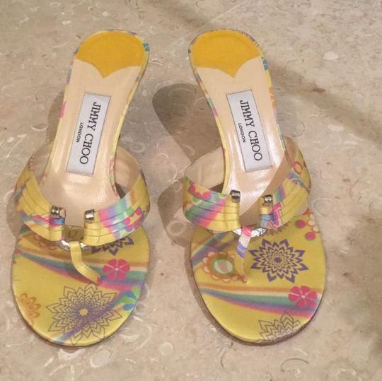 Jimmy Choo Multi color Sandals
