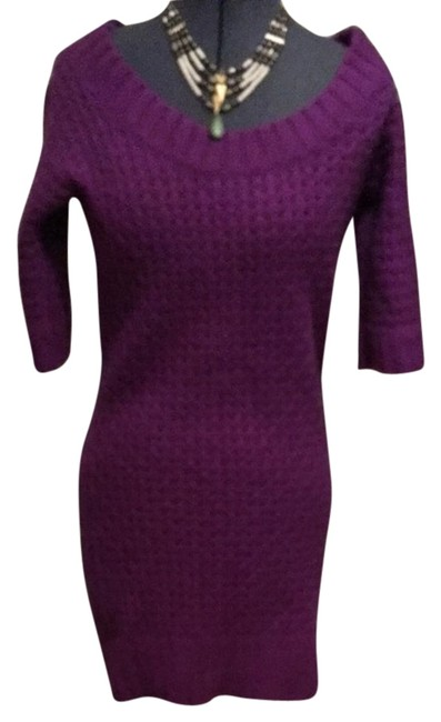 Preload https://item3.tradesy.com/images/calypso-st-barth-purple-cashmere-sweater-short-casual-dress-size-4-s-10584142-0-1.jpg?width=400&height=650