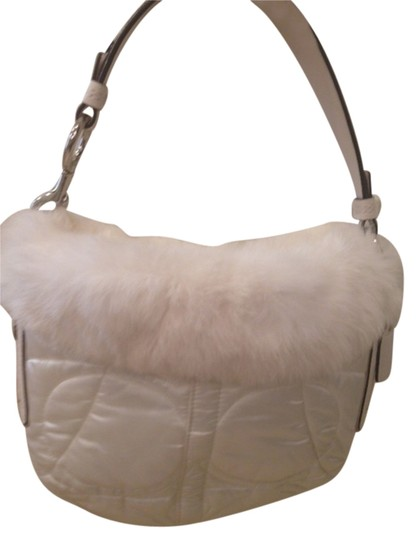 Preload https://item5.tradesy.com/images/coach-ski-white-satin-and-rabbit-fur-hobo-bag-10584289-0-1.jpg?width=440&height=440