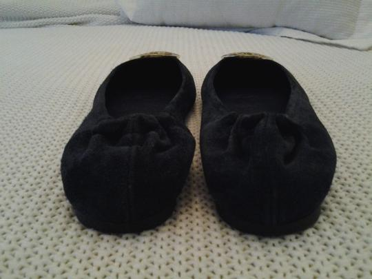 Tory Burch Suede Vintage Navy blue Flats