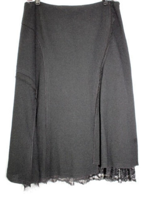 Other Wool Skirt BLACK