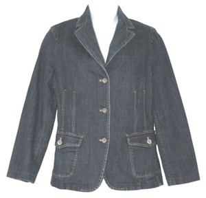 Façonnable Cotton Jean BLUE Womens Jean Jacket