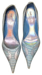 Faith Solo Blue Pumps