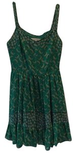 LC Lauren Conrad short dress Floral green on Tradesy