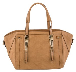 Other Zippers Tote in Tan