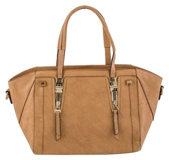 Other Purse Zippers Tote in Tan