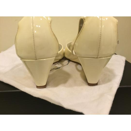 Prada Cream Wedges