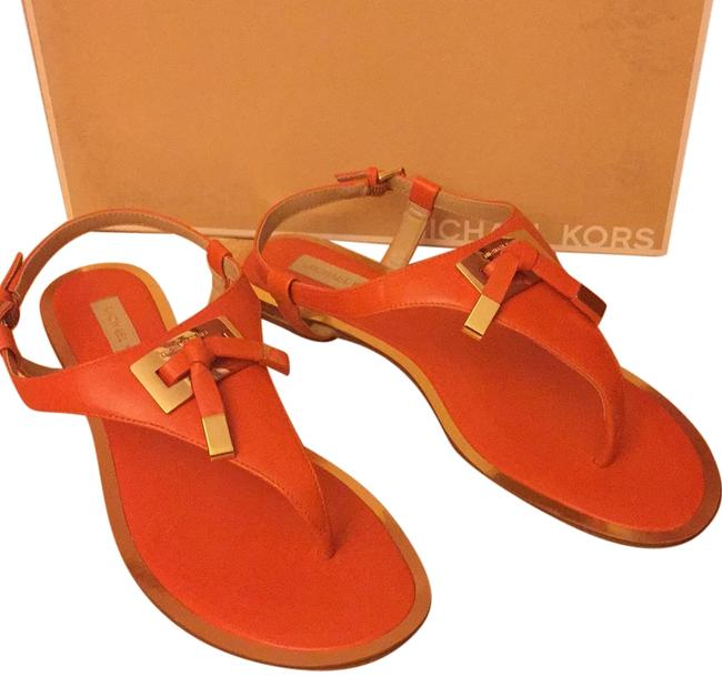 Item - Orange Hara Luxurious Calfskin New Retails Sandals Size US 7 Regular (M, B)