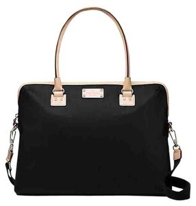 Kate Spade USE CODE GIFT$25 OFF THIS ITEM KATE SPADE WKRU3261 BLACK KENNEDY PARK CALISTA LAPTOP BAG NWT ADJUSTABLE STRAP INSIDE SLOTS