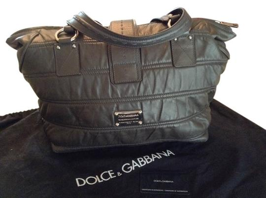 Preload https://item3.tradesy.com/images/dolce-and-gabbana-dolce-and-gabbana-dark-gray-smooth-leather-shoulder-bag-10585807-0-1.jpg?width=440&height=440