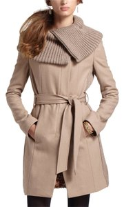 Elevenses Anthropologie Wool Classic Trench Coat