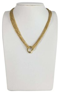 Tiffany & Co. Tiffany & Co. Yellow Gold Chain Heart Necklace