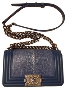 Chanel Boy Boy Stingray Cross Body Bag