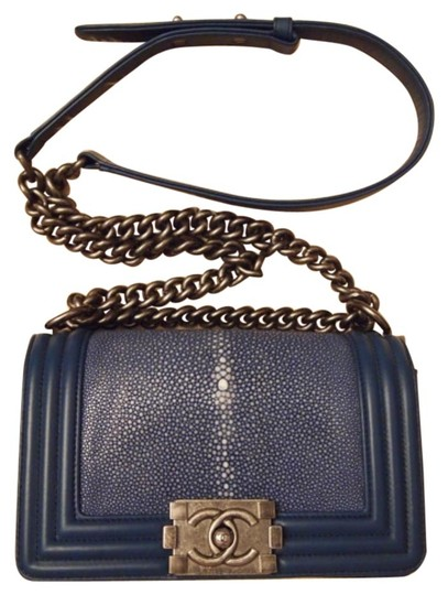 Chanel Stingray Exotic Boy Flap Mini Limited Edition Cross Body Bag