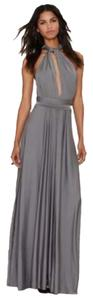 Gray Maxi Dress by Nasty Gal
