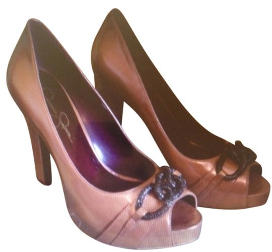 Jessica Simpson Bronze Pumps