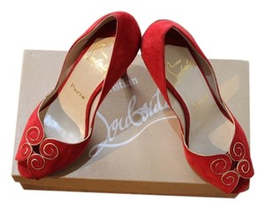 Christian Louboutin Designer Pre-owned Red Pumps