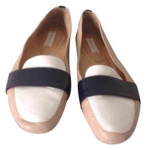 Reed Krakoff Tan Multi Flats