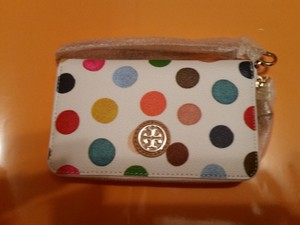 Tory Burch Wristlet in Multi Colored dots