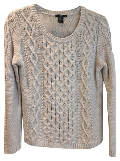 Preload https://item3.tradesy.com/images/h-and-m-grey-sweaterpullover-size-8-m-10587697-0-1.jpg?width=400&height=650