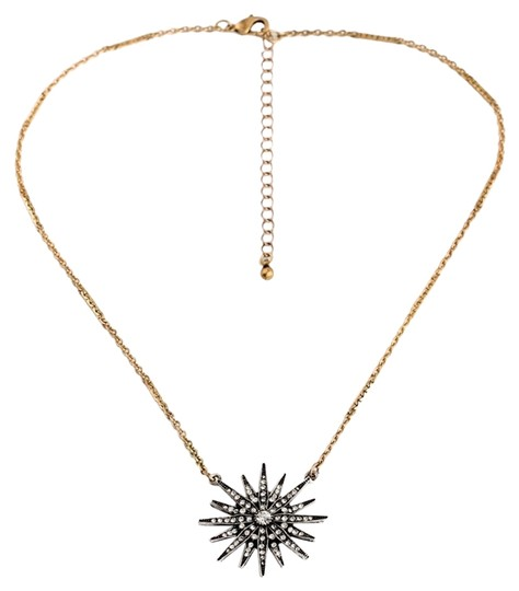 Preload https://img-static.tradesy.com/item/10587904/pave-sunburst-stone-necklace-0-1-540-540.jpg