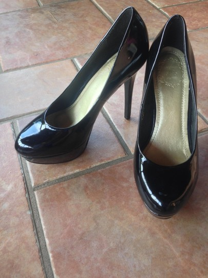 Ollio Formal Night Out Black Pumps