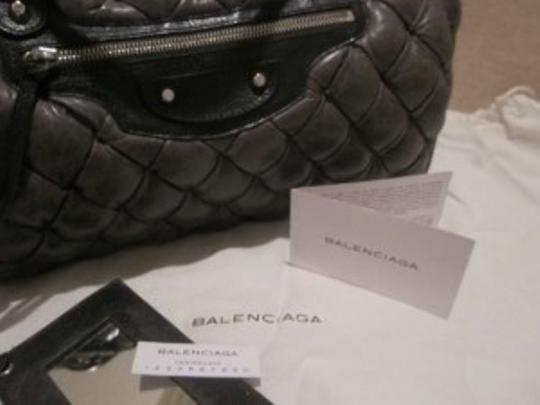 Balenciaga Satchel in Charcoal Grey