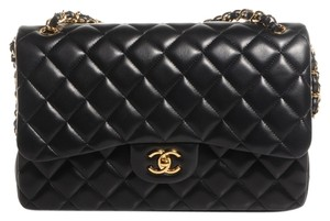 Chanel Classic Double Flap Jumbo Shoulder Bag
