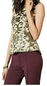 Greylin Petite Sparkled Frond Anthropologie Top