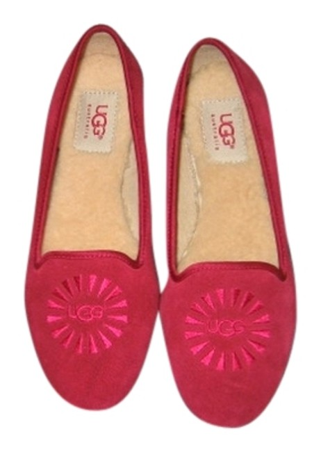 Item - Red Flats Size US 6 Regular (M, B)