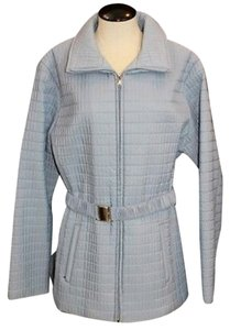 Nine West Quilted LIGHT BLUE Jacket