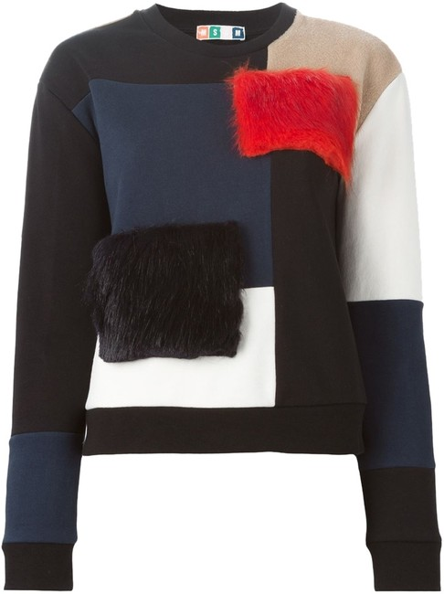 Preload https://item5.tradesy.com/images/msgm-color-block-panel-sweatshirthoodie-size-4-s-10588639-0-1.jpg?width=400&height=650