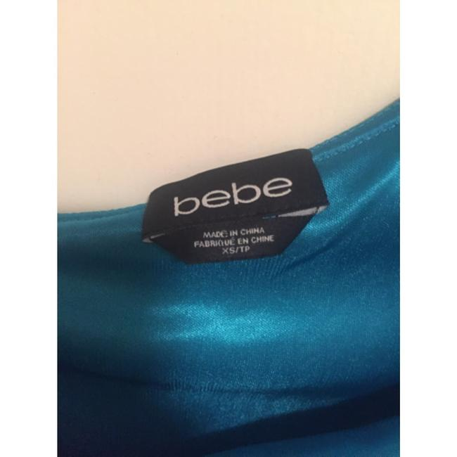 bebe short dress Blue on Tradesy