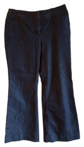 Kenneth Cole Trouser/Wide Leg Jeans-Dark Rinse